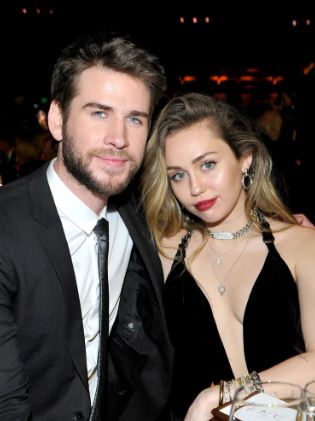 Miley and LiamHemsworth