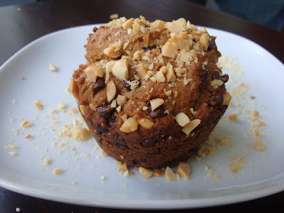 Whole Wheat Peanut Butter Muffins from Alida's Kitchen