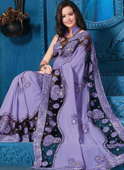 contoh sari india modern