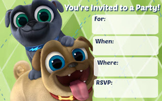 puppy dog pals birthday
