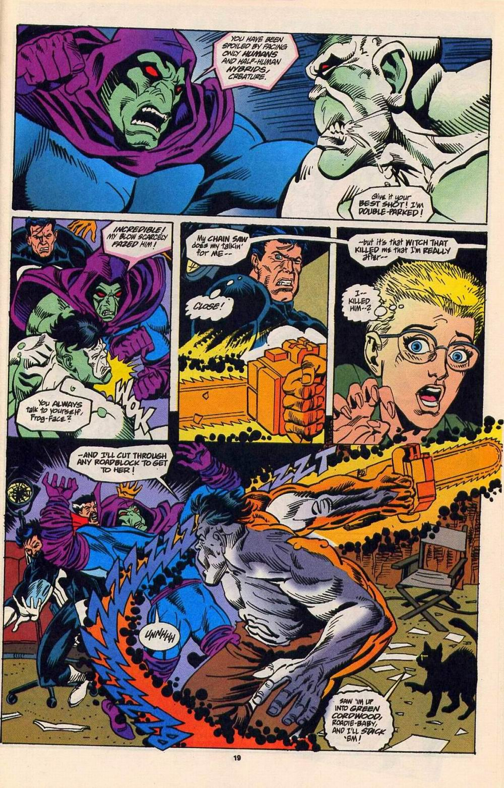 Read online Secret Defenders comic -  Issue #5 - 16