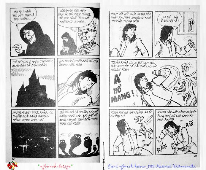 Dũng Sĩ Hesman tập 3 - mãng xà giả dạng trang 11