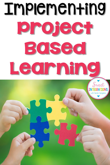 When implementing Project Based Learning, teachers and students can think about different types of challenges or problems.