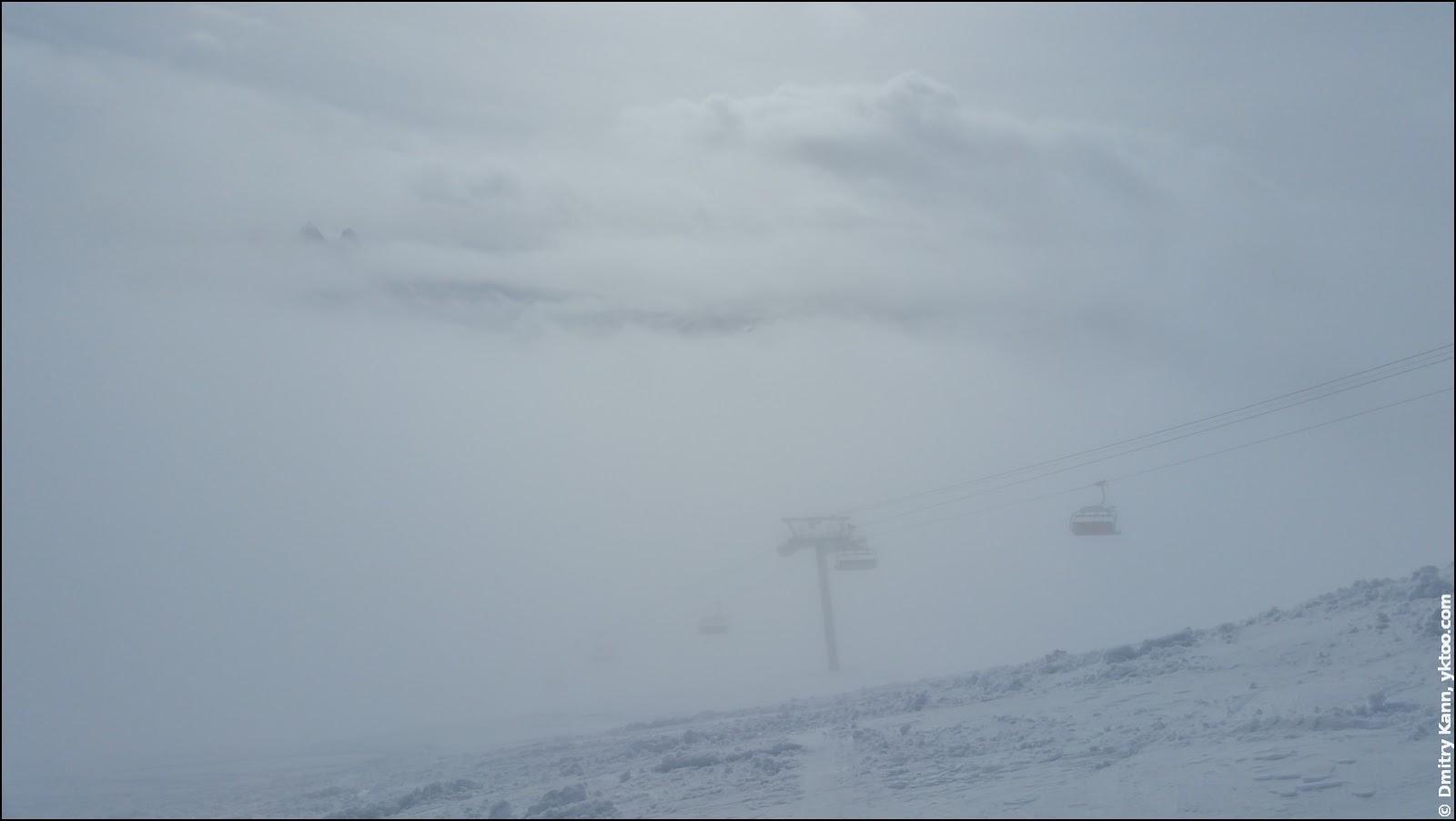 Туман в Ле-Сибель.