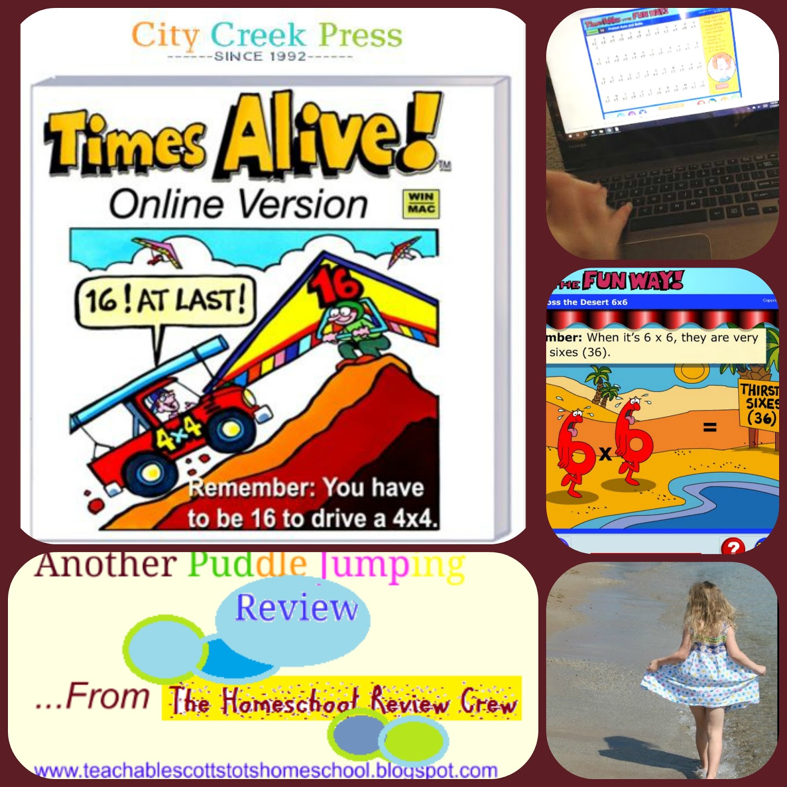 Puddle jumping homeschool review crew times tables the fun way homeschool review crew times tables the fun way gamestrikefo Choice Image