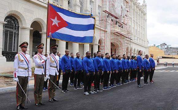Los granmenses, que se proclamaron campeones del béisbol cubano por primera vez en la historia, viajarán mañana martes hacia la sede del evento. Foto: Omara García