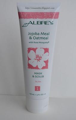 Aubrey Organics Jojoba Meal & Oatmeal Mask&Scrub