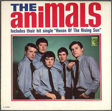 Portada del LP de 1964 - The Animals