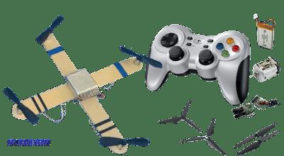 Merakit Drone Sederhana Biaya Murah