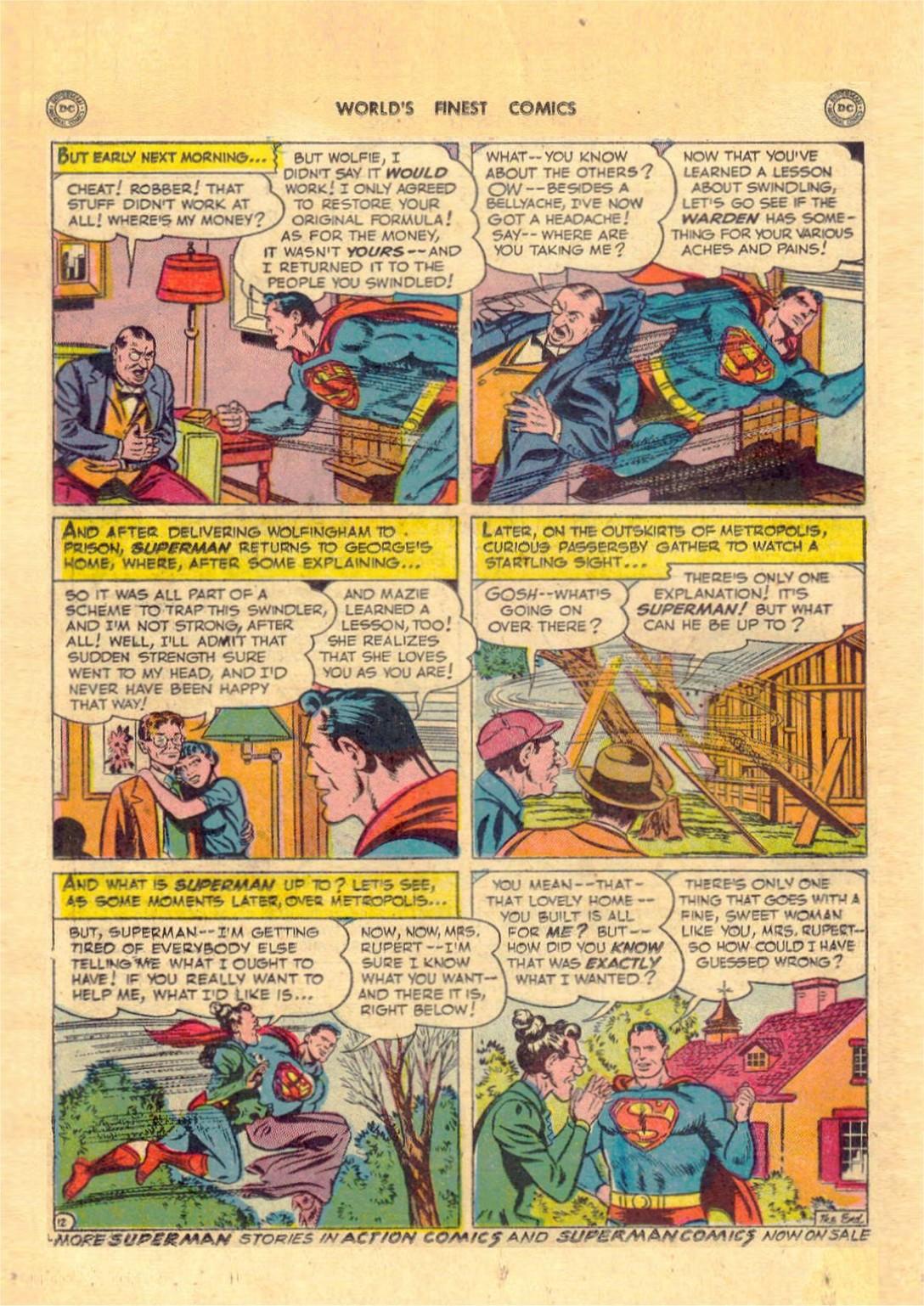 Read online World's Finest Comics comic -  Issue #52 - 14