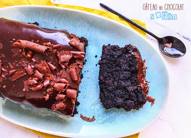 recette de gateau au chocolat vegan