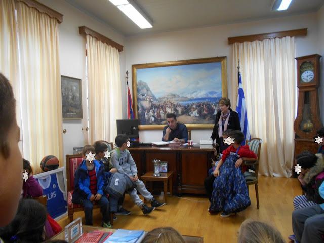 Μαθητές του 6ου Δημοτικο Σχολείου επισκέφθηκαν τον Δήμαρχο Ναυπλιέων - Τι του ζήτησαν;