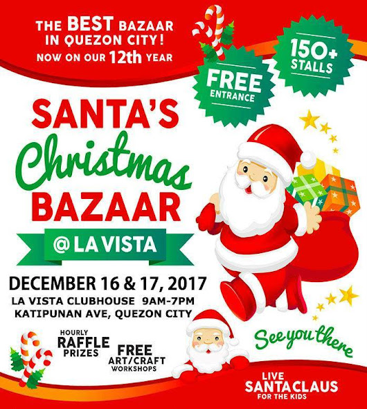 Hainrihi's Discoveries: Press Release | Santa's Christmas Bazaar at La Vista