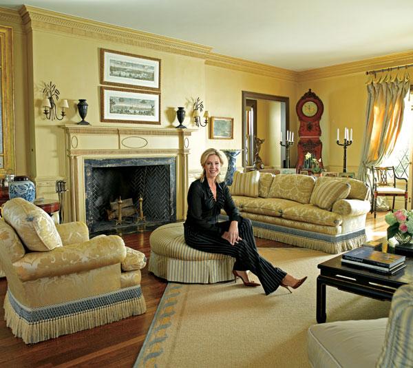 New Home Designs Latest October 2011: New Home Interior Design: Inside Deborah Norville's Edition