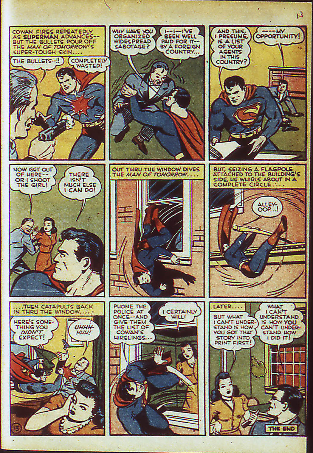 Read online Action Comics (1938) comic -  Issue #41 - 16