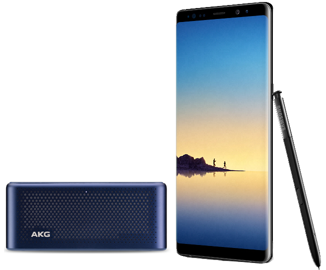 Pre-order the Samsung Galaxy Note8 today