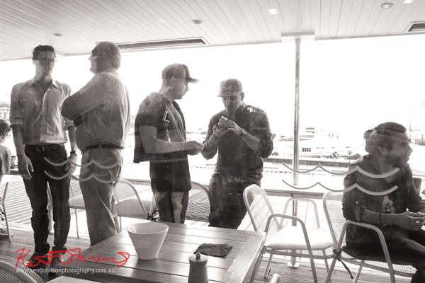 On the deck, Sperry Odyssey Australia launch @ Regatta with Swimming Australia.
