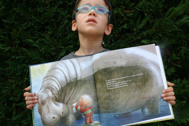 libro infantil imagina, sobre no aplastar y frustrar la imaginación infantil