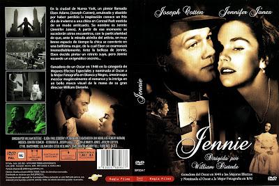 Carátula dvd:Jennie (1948) Portrait of Jennie
