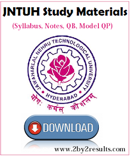 JNTU R16 Mechanical 3-2 Syllabus Notes Question Bank Model Question Papers PDF