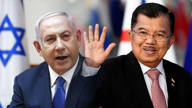 Novel: Umat Tersakiti Pertemuan JK dan PM Israel