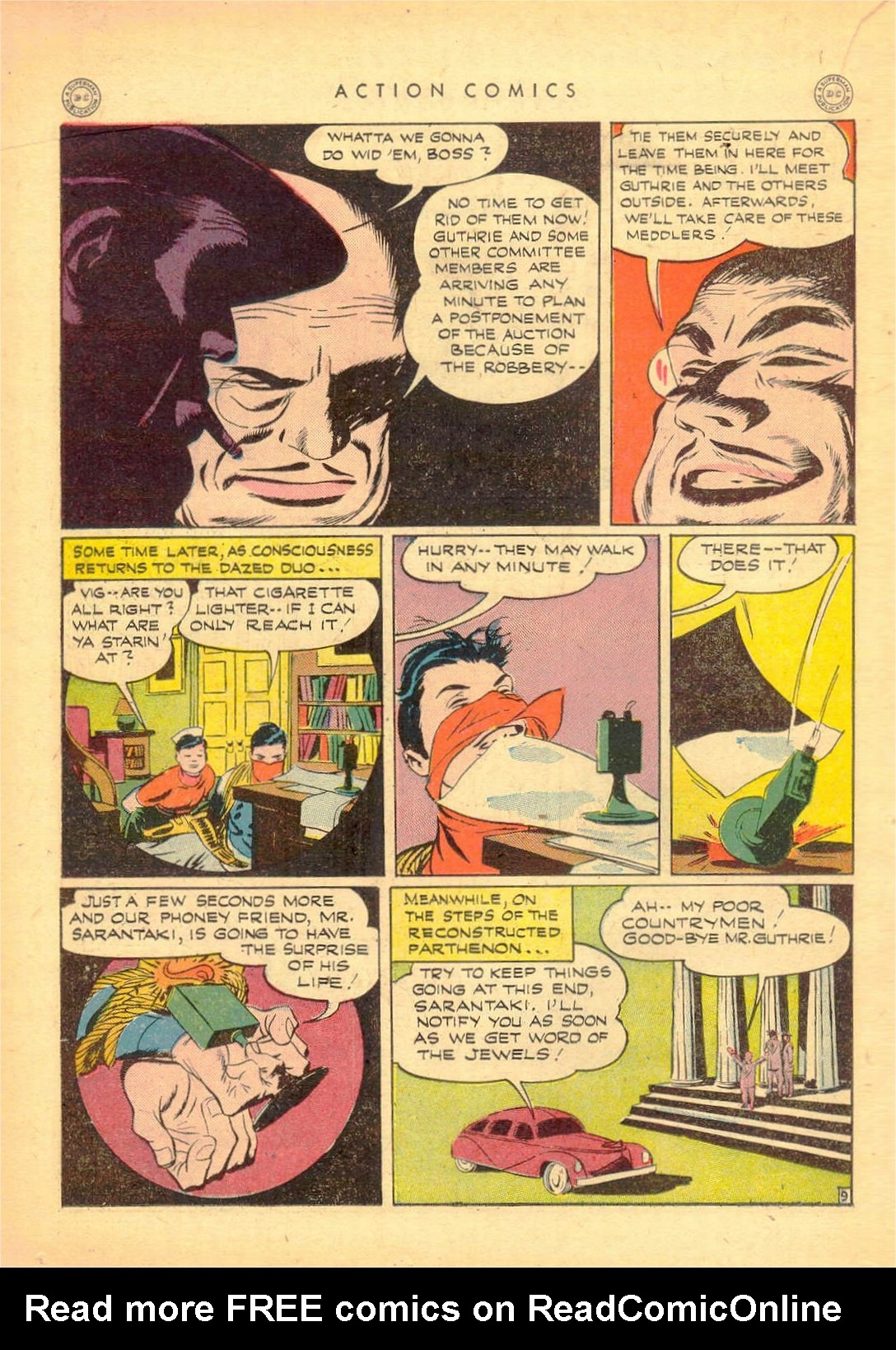 Read online Action Comics (1938) comic -  Issue #80 - 31