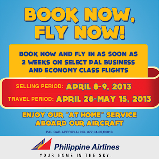 New PAL and PAL Express promo: Book now, fly now