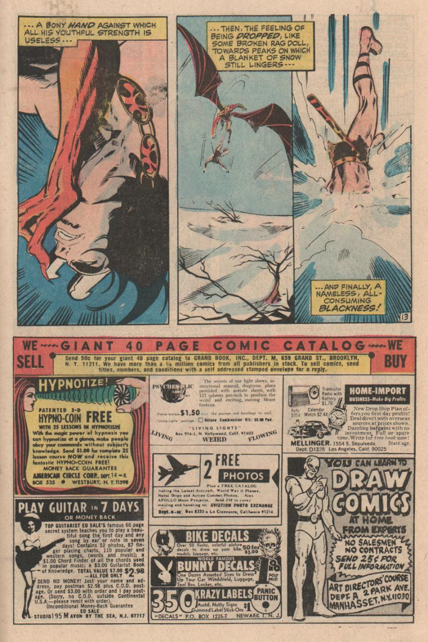 Conan the Barbarian (1970) Issue #1 #13 - English 14
