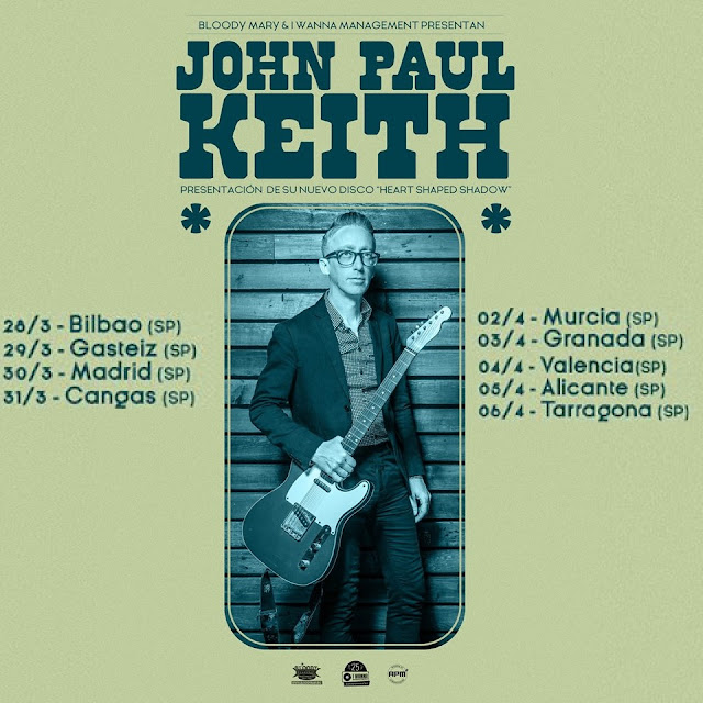 Que vuelve John Paul Keith!!!!!! - Spanish Tour 2019