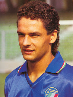 The Azzurri's brilliant playmaker, Roberto Baggio, scored against England