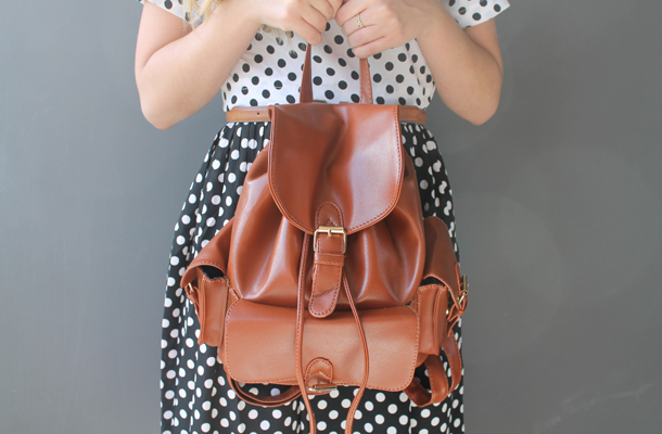 Princess Highway, vintage backpack