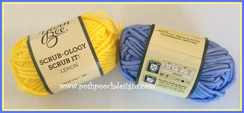 Posh Pooch Designs Dog Clothes: Scrub It Scrubby Yarn Review