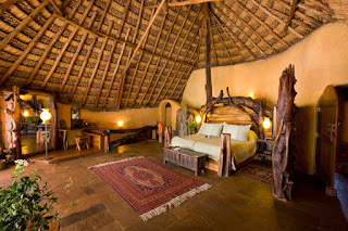 Luxury accommodation at Ol Malo House in Northern Kenya at Laikipia
