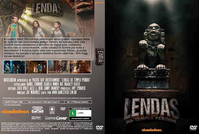 Capa DVD Lendas Do Templo Perdido [Exclusiva]