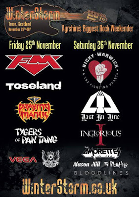 FM at Troon WinterStorm festival 25 Nov 2016 poster