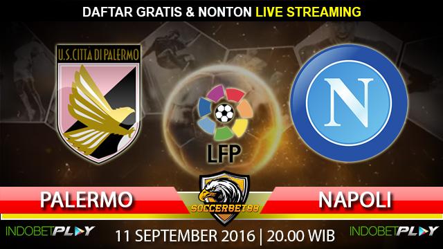 Prediksi Palermo vs Napoli 11 September 2016 (Liga Italia)