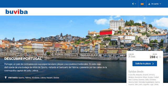 Viaje todo incluido descubre Portugal
