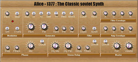 Alice 1377 - Vintage Synthesizers