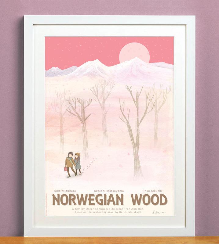 Emmeline Illustration: Norwegian Wood
