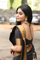 Poorna in Cute Backless Choli Saree Stunning Beauty at Avantika Movie platinum Disc Function ~  Exclusive 041.JPG