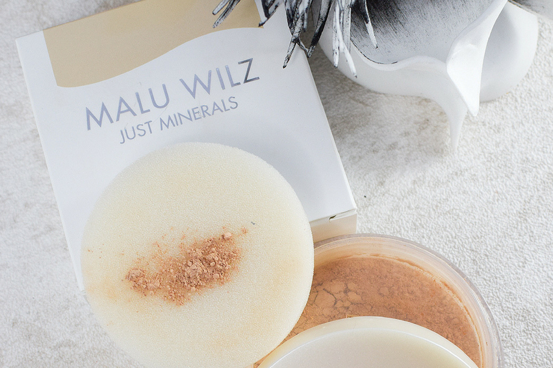 Malu Wilz Just Minerals Powder Foundation, Test