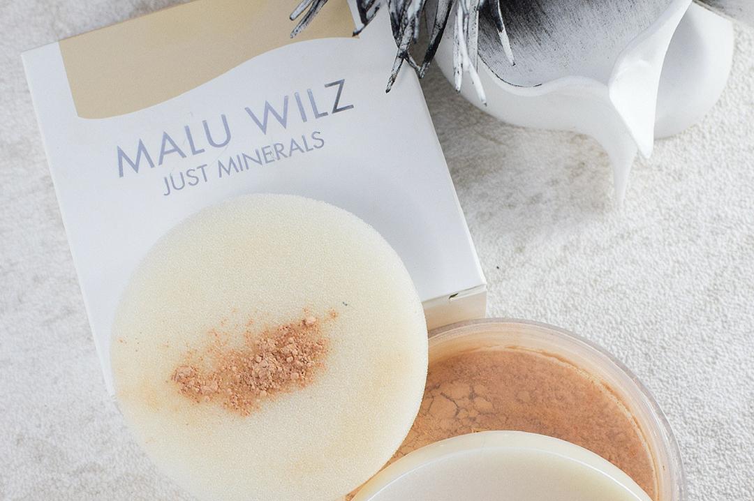 Malu Wilz Just Minerals Powder Foundation, Test
