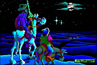 Videojuego Don Quijote, aventura conversacional
