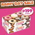 Dunkin' Donuts Rainy Day Sale - August 26-27, 2016