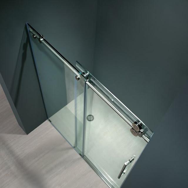 Frameless Shower doors by Vigo
