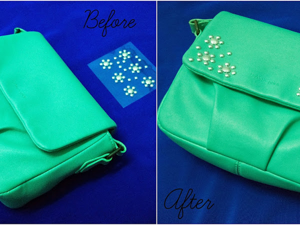 {Real DIY} : How to make over your old bag?