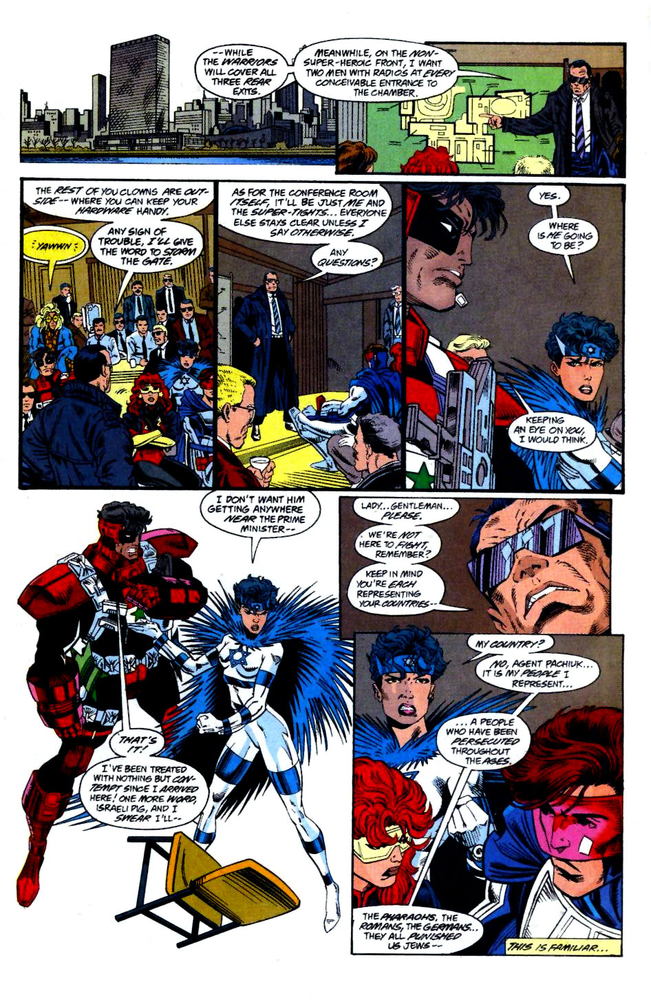 The New Warriors Issue #58 #62 - English 16