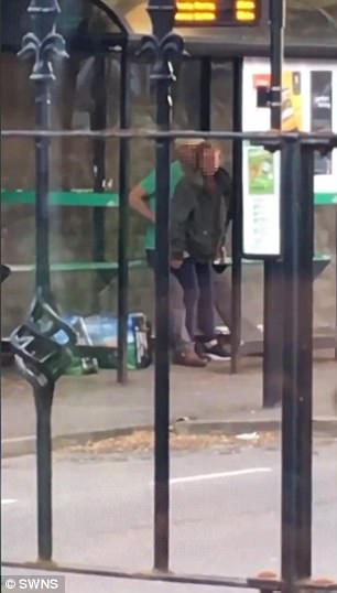 This Woman Filmed A Couple Having S*x At A Bus Stop!