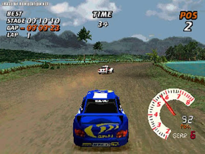 Download Game V-Rally 2 PS1 ISO