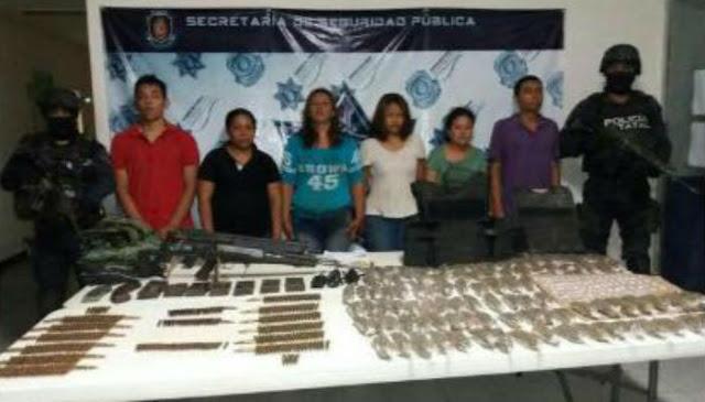 Detienen a otras seis personas ligadas a la emboscada a policías en Zihuatanejo